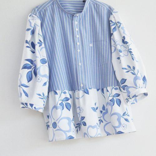blomstret-skjorte